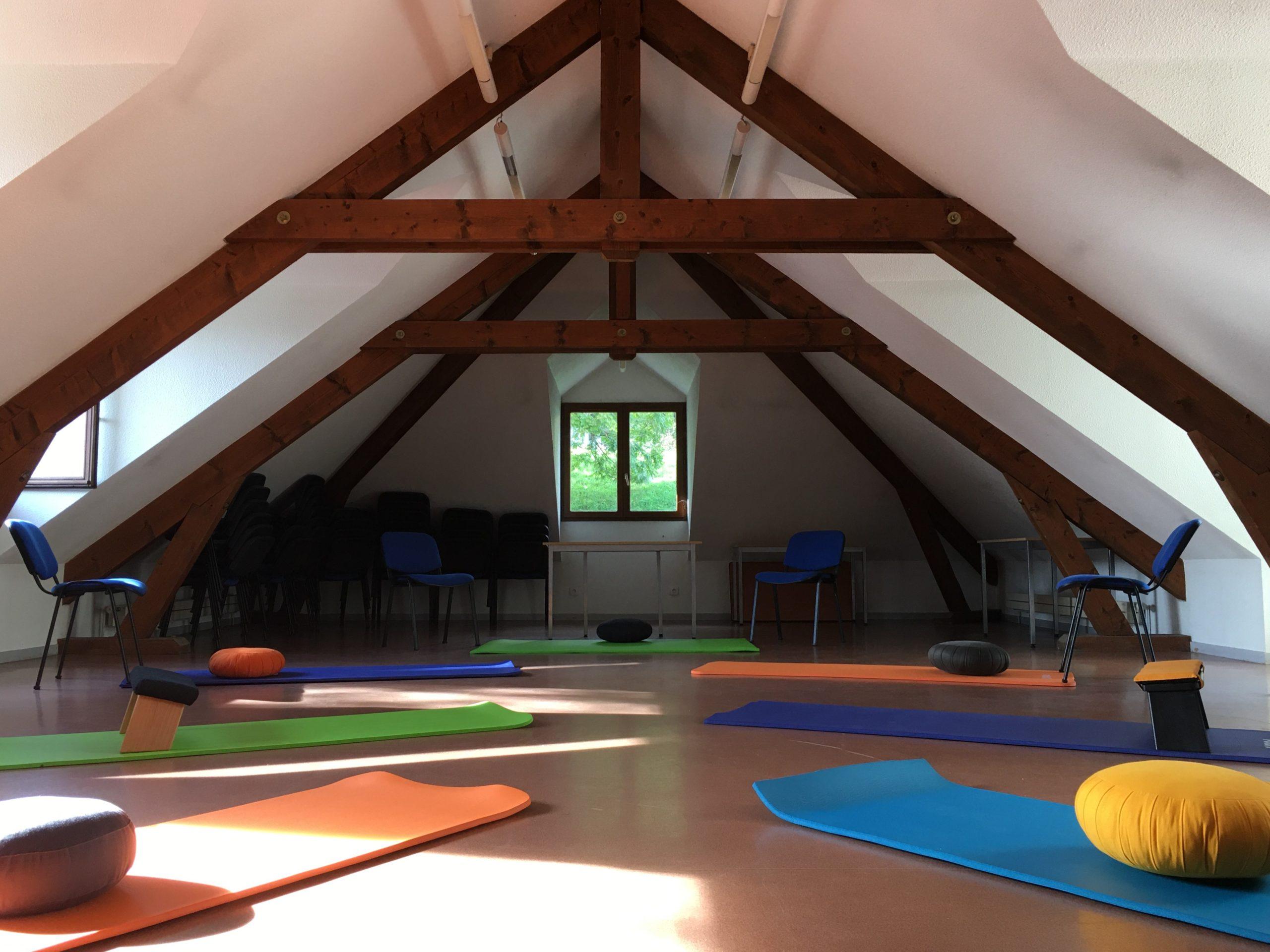 Méditation Mindfulness salle médiation La Terrasse Grenoble