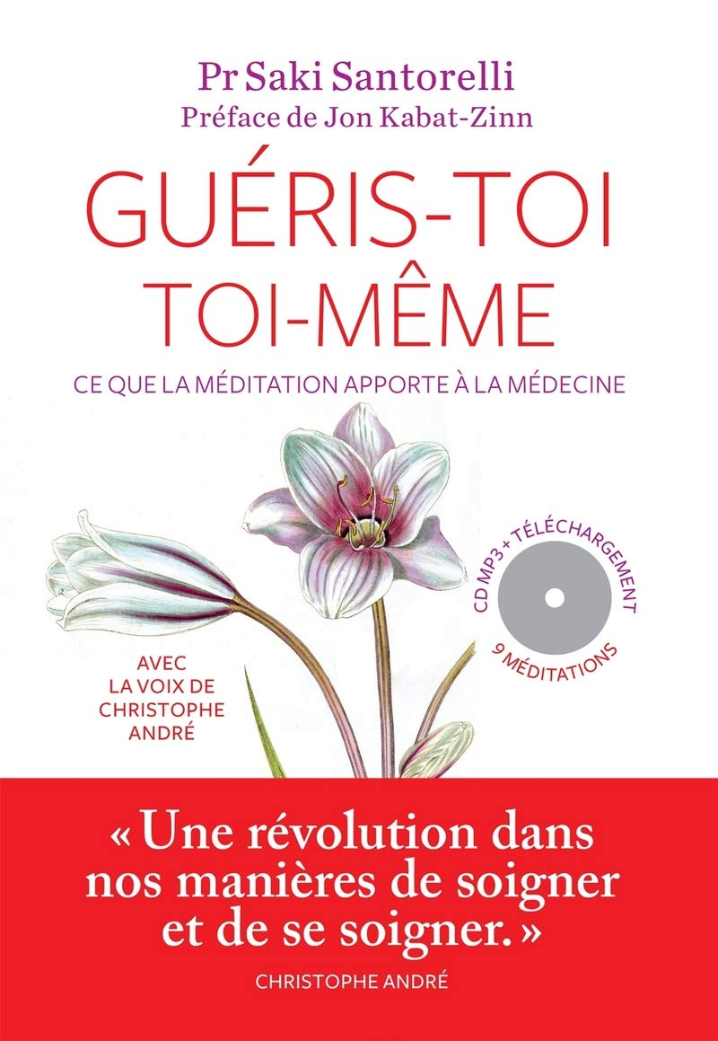 Méditation Mindfulness couverture livre Guéris-toi toi-même