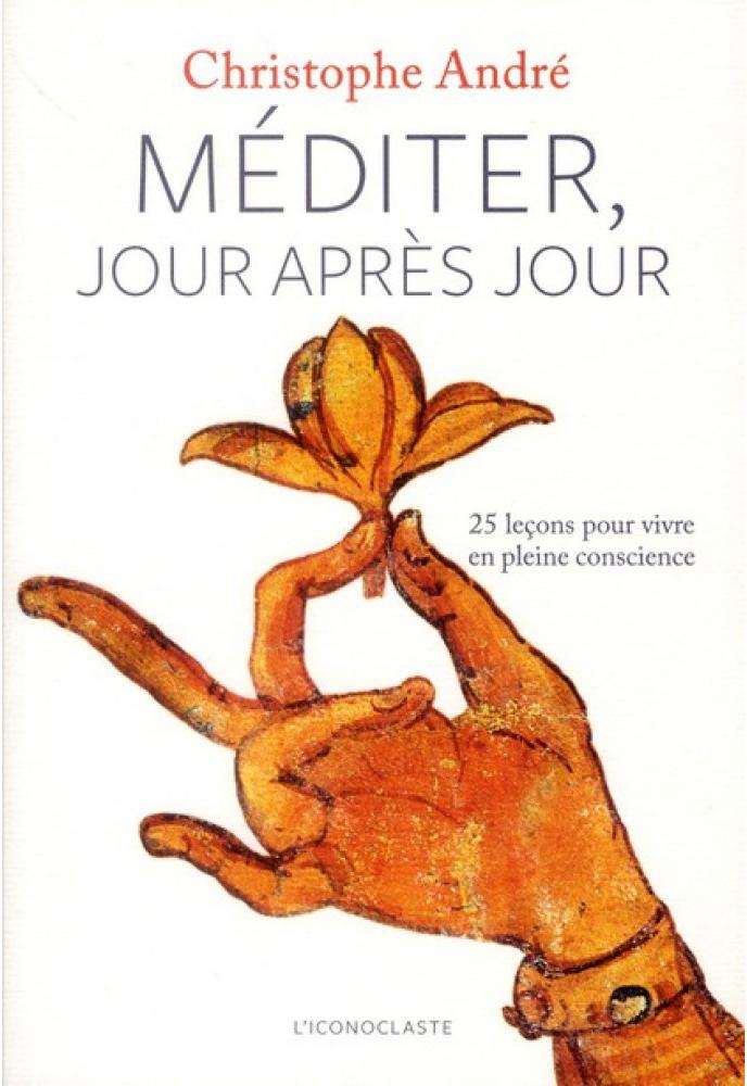 Méditation Mindfulness couverture livre Méditer Jour après Jour